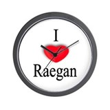 Raegan Wall Clock