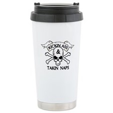 Baby Humor shirts Takin Naps Ceramic Travel Mug