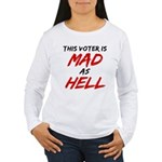 MAD AS HELL b Women's Long Sleeve T-Shirt