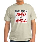MAD AS HELL b Light T-Shirt