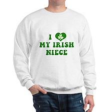 I Love My Irish Niece Sweatshirt