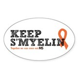 MS/Multiple Sclerosis Decal