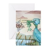 Don't Ever Give Up! Greeting Cards (Pk of 10)