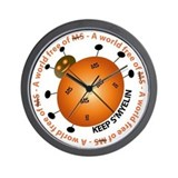 Unique Health and health conditions Wall Clock