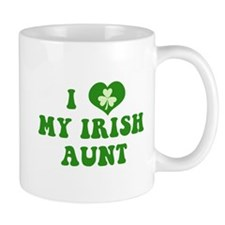 I Love My Irish Aunt Mug
