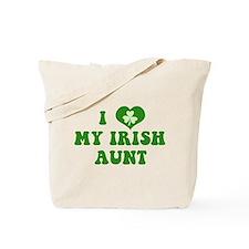 I Love My Irish Aunt Tote Bag