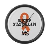MS/Multiple Sclerosis Large Wall Clock