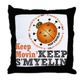 MS/Multiple Sclerosis Throw Pillow