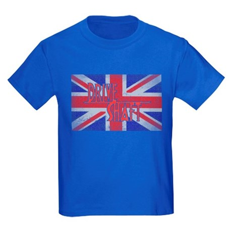 Drive Shaft Royal Blue Kids Dark T-Shirt
