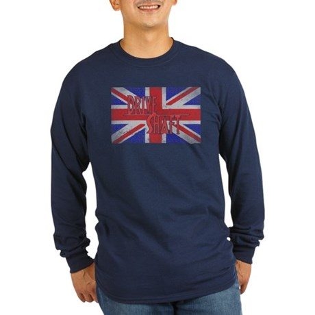 Drive Shaft LOST Blue Long Sleeve Dark T-Shirt