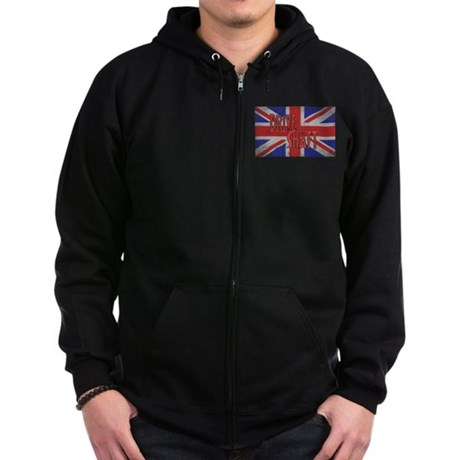 Drive Shaft LOST Black Zip Dark Hoodie