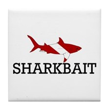 Sharkbait Tile Coaster
