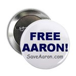"""FREE AARON!"" 2.25"" Button"