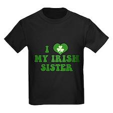 I Love My Irish Sister T