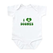 I Love Scones Infant Bodysuit