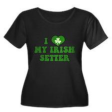 I Love My Irish Setter T