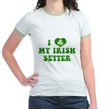 I Love My Irish Setter T