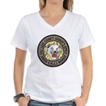 Salt Lake County SWAT Women's V-Neck T-Shirt