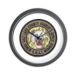 Salt Lake County SWAT Wall Clock