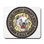 Salt Lake County SWAT Mousepad