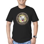 Salt Lake County SWAT Men's Fitted T-Shirt (dark)