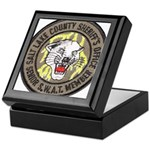 Salt Lake County SWAT Keepsake Box