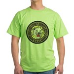 Salt Lake County SWAT Green T-Shirt