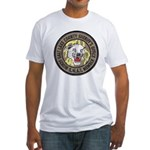 Salt Lake County SWAT Fitted T-Shirt