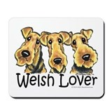 Welsh Terrier Lover Mousepad