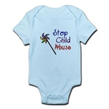 Child Abuse Awareness Infant Bodysuit