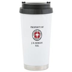 Property of J D Dorian Ceramic Travel Mug