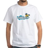 Folly Beach SC - Surf Design Shirt