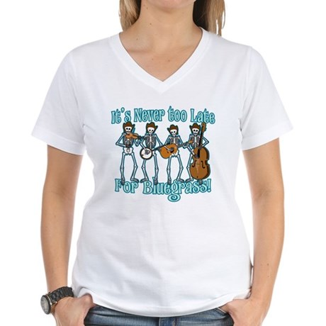 Bluegrass Beyond Women's V-Neck T-Shirt