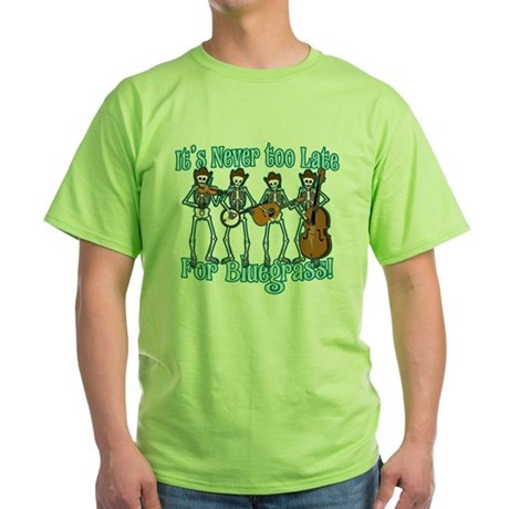 Bluegrass Beyond Green T-Shirt