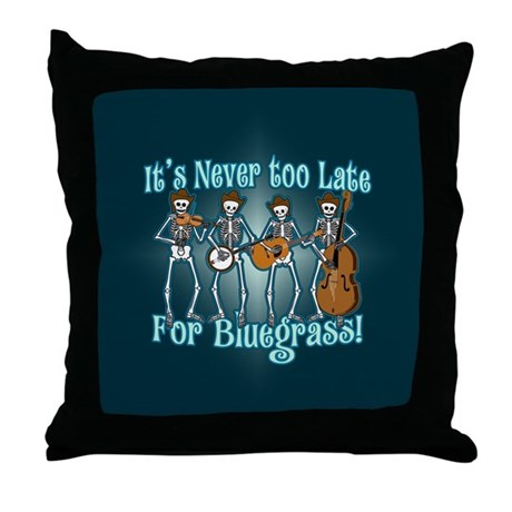 Bluegrass Beyond Throw Pillow