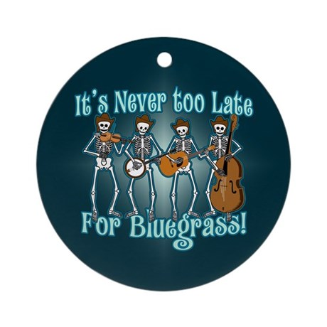Bluegrass Beyond Ornament (Round)