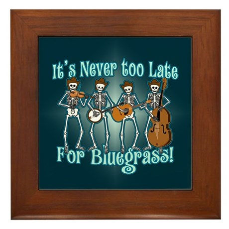 Bluegrass Beyond Framed Tile