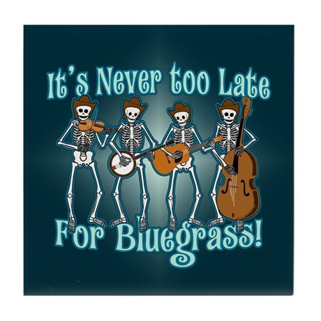 Bluegrass Beyond Tile Coaster