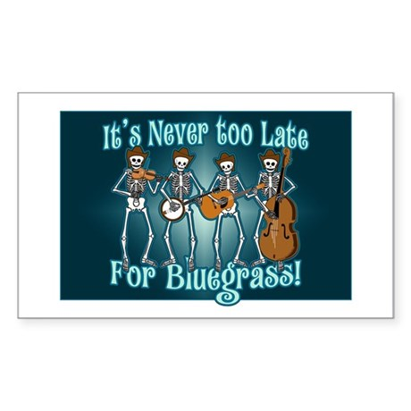 Bluegrass Beyond Sticker (Rectangle 10 pk)
