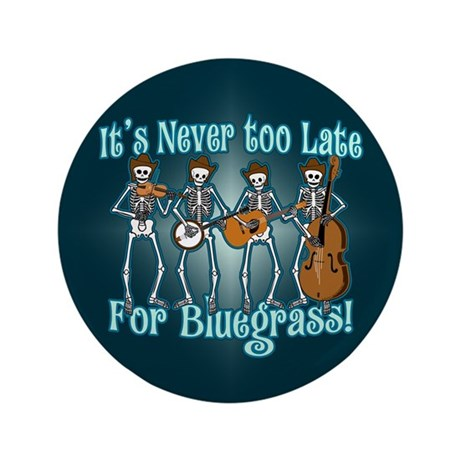 "Bluegrass Beyond 3.5"" Button"