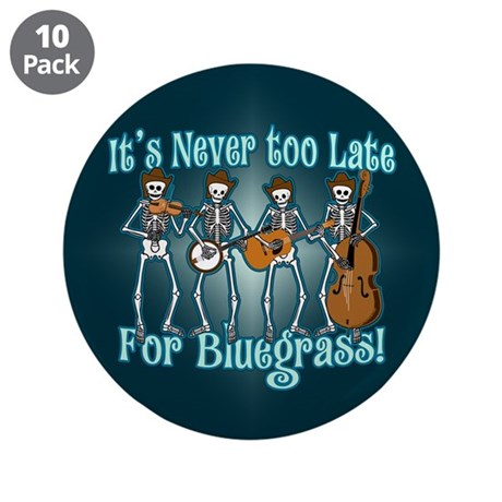 "Bluegrass Beyond 3.5"" Button (10 pack)"
