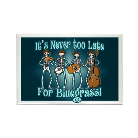 Bluegrass Beyond Rectangle Magnet