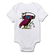 DJ HOOT OWL LIVE FROM JAPAN Infant Bodysuit