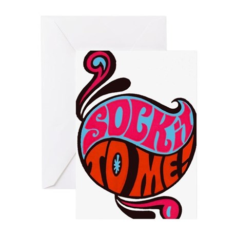 Sock It To Me Greeting Cards (Pk of 20)