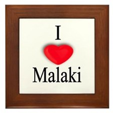 Malaki Framed Tile