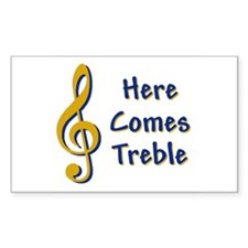 Here Comes Trouble Decal