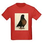 Kite Tumbler Pigeon Kids Dark T-Shirt