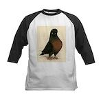 Kite Tumbler Pigeon Kids Baseball Jersey
