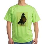 Kite Tumbler Pigeon Green T-Shirt