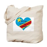 Waiting, Loving, Congo Tote Bag